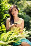 Text messaging Stock Photography