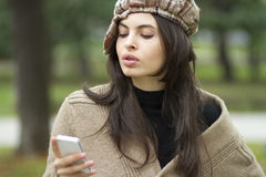 Text messaging Royalty Free Stock Image