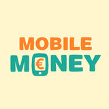 Text mobile money Stock Photos