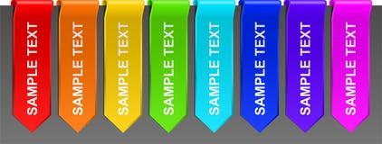 Text Ribbons Stock Photos