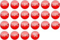 The text sale Stock Image