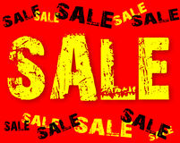 The text sale Royalty Free Stock Photos