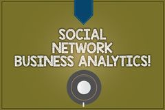 Text sign showing Social Network Business Analytics. Conceptual photo Online modern networking connection Coffee Cup vector illustration