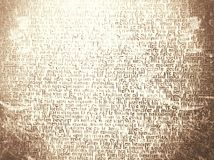 Text som ser textur på gammalt papper Royaltyfri Bild