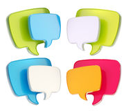 Text speech bubble icon isolated Stock Photo