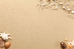 Text and symbols in the sand Royalty Free Stock Image