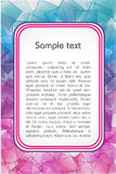 Text template Royalty Free Stock Photos