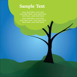 Text tree Stock Images