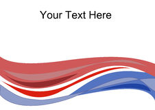Text Wave Vector Royalty Free Stock Photos