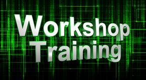 Workshop training  Royalty Free Stock Images