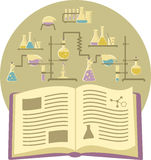 Textbook on Chemistry Stock Image