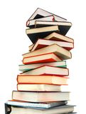 Textbook pile Stock Images