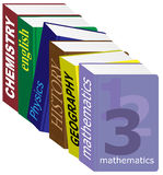 Textbooks Stock Photo