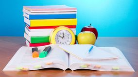 Textbooks And Supplies Royalty Free Stock Images