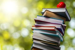 Textbooks Royalty Free Stock Photography