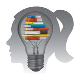 Textbooks education concept. Stock Images