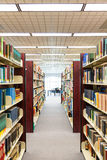 Textbooks and education - hallway Royalty Free Stock Photography