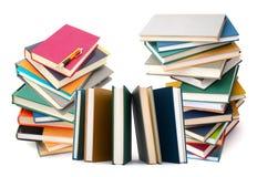 Textbooks Files Stock Photos