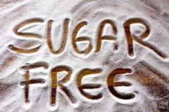 Texte avec du sucre gratuit images libres de droits