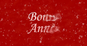 Texte de bonne année en français Image libre de droits