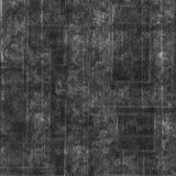 Texte de collage de vintage et fond floral de noir de modèle Photos libres de droits