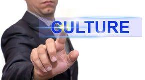 Texte de culture avec l'homme d'affaires photo libre de droits