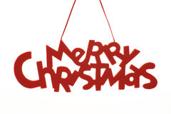 Texte de Joyeux Noël Image stock