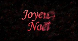 Texte de Joyeux Noël en français Photos libres de droits