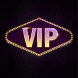 Texte de la personne très importante VIP Photo stock