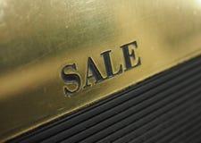 texte de label de vente Photographie stock