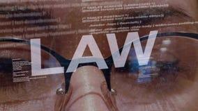 Texte de loi sur le programmateur de logiciel femelle banque de vidéos
