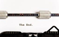 Texte de machine à écrire Image libre de droits