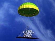 texte de parachute de vol illustration stock