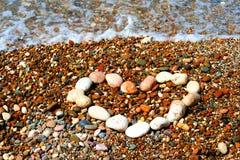 Texte de petites pierres Photo stock