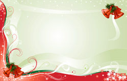 texte de pièce de Noël de carte de fond illustration libre de droits