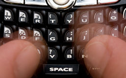 texte de transmission de messages photos stock