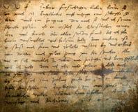 Texte manuscrit images stock