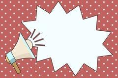 Texte vide de l'espace de copie de calibre de conception d'illustration plate de vecteur en particulier pour l'annonce, promotion illustration libre de droits