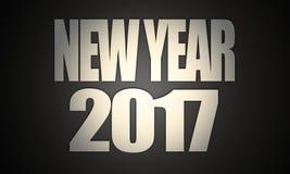 Textes 2017 de ` de nouvelle année de ` Photos libres de droits