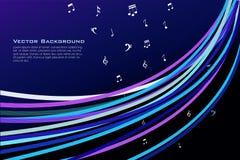 Textes de musique Image libre de droits