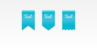 Textfarbbänder Lizenzfreie Stockfotografie