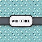 Texthintergrund mit buntem pixelated Muster Lizenzfreie Stockbilder