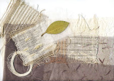 Textiel achtergrond Stock Afbeelding