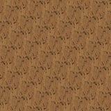 Textiel bruine wolpatroon en achtergrond Stock Foto