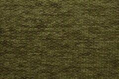 Textiel de olijf groene kleur van Anemon Kombin Forest Dark van de stoffentextuur Stock Fotografie