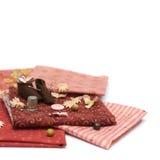 Textiel en naaiende toebehoren Stock Fotografie