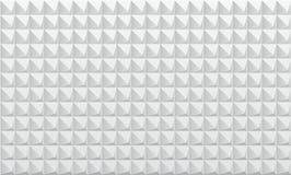 Textiel en tegel op grijze geregelde achtergrond Royalty-vrije Stock Fotografie