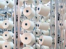 Textiel fabriek Royalty-vrije Stock Afbeeldingen