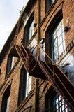 De treden van de fabriek Stock Afbeeldingen
