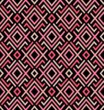 Textiel geometrisch naadloos patroon Aziatische vectorenachtergrond vector illustratie